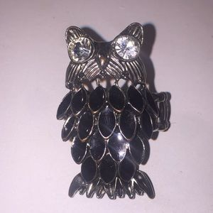 "2"" stretchy owl ring"